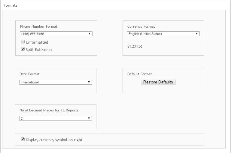 Preferences System Formats